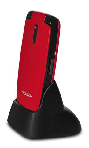Thomson SEREA62RED cellulare 6,1 cm (2.4