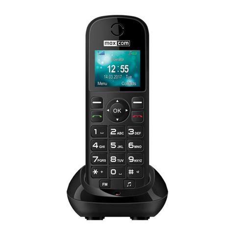 MaxCom MM35D Telefono DECT Nero
