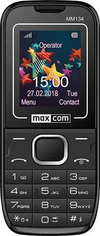 Movil Smartphone Maxcom Classic Mm134 Nero
