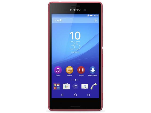 Sony Xperia M4 Aqua SIM singola 4G 8GB Corallo, Rosso