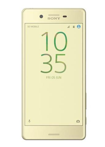 Sony Smartphone Sony Xperia per 4G 32Gb Lime Oro