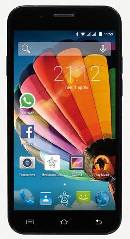 Mediacom Smartphone Mediacom PhonePad Duo G512 8Gb Grigio