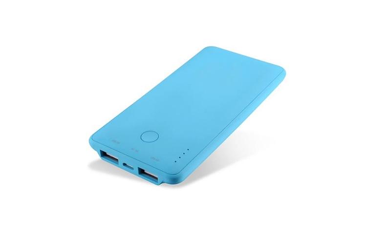 CoolBox COO-PB6K-BL batteria portatile Blu Polimeri di litio (LiPo) 6000 mAh