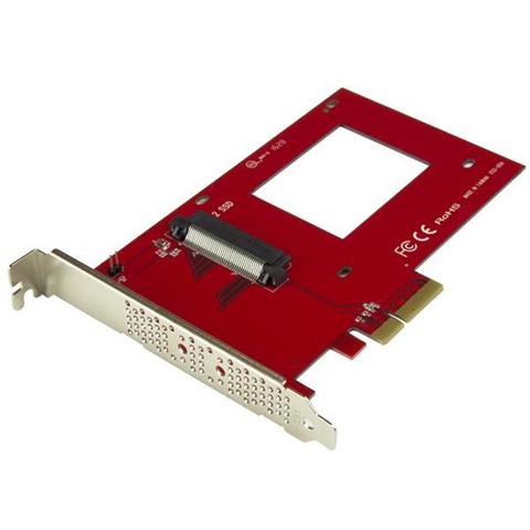 StarTech.com Scheda Adattatore PCI Express ad U.2 NVMe SSD - SFF-8639 da 2,5