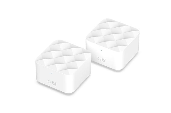 Netgear Orbi WiFi System (RBK12) AC1200 router wireless Dual-band (2.4 GHz/5 GHz) Gigabit Ethernet Bianco