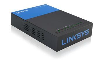 Linksys Router Linksys LRT224 Collegamento Ethernet LAN Nero Blu