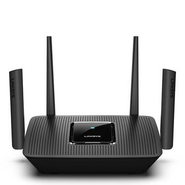 Linksys MR9000 router wireless Banda tripla (2.4 GHz/5 GHz/5 GHz) Gigabit Ethernet Nero