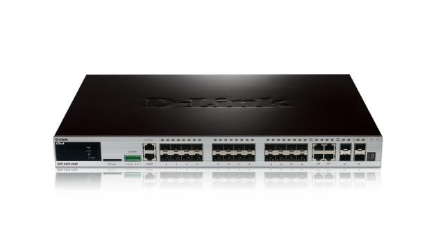 D-Link DGS-3420-28PC switch di rete Gestito L2+ Supporto Power over Ethernet (PoE)