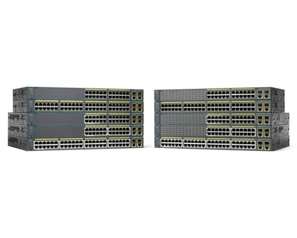 Cisco Systems Catalyst WS-C2960+48PST-S switch di rete Gestito L2 Fast Ethernet (10/100) Nero Supporto Power over Ethernet (PoE)