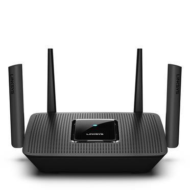 Linksys MR8300 router wireless Banda tripla (2.4 GHz/5 GHz/5 GHz) Gigabit Ethernet Nero