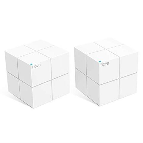 Tenda Nova MW6 EU 2 Router di rete domestica con tecnologia Mesh, Bianco Confezione da 2 pezzi