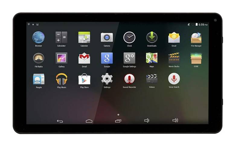 Denver TAQ-10253 tablet 16 GB Nero