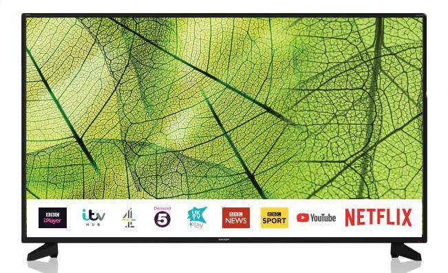 Sharp 40BJ2E TV 101,6 cm (40