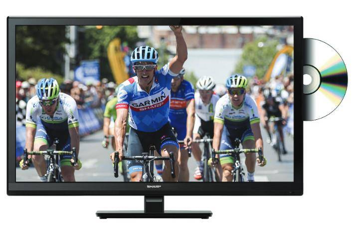 Sharp LC-24DHF4012E TV 61 cm (24