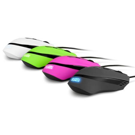 Sharkoon SHARK Force USB Ottico 1600DPI Mano destra Nero mouse