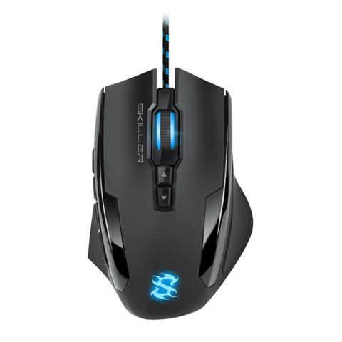 Sharkoon Skiller SGM1 mouse USB tipo A Ottico 10800 DPI Mano destra