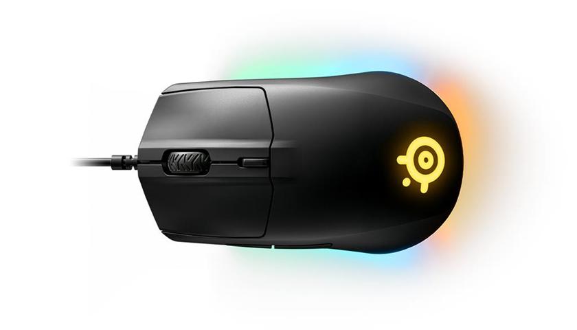 Steelseries Rival 3 mouse USB tipo A Ottico 8500 DPI Mano destra