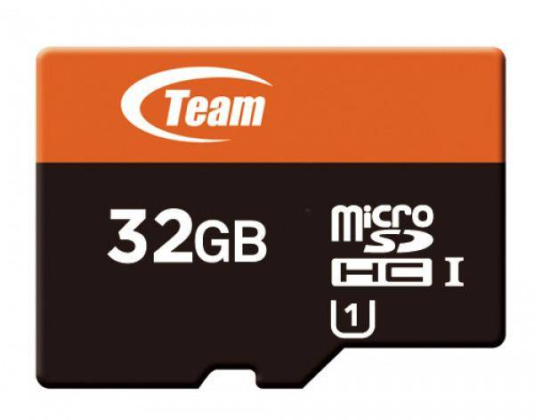 Memory Card microsd 32Gb teamgroup uhs-i