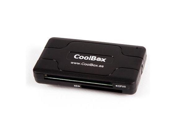 CoolBox CRE 050 lettore di schede Nero USB 2.0