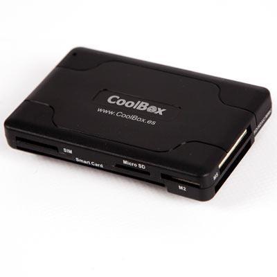 CoolBox CRE-065 USB 2.0 Nero lettore di schede
