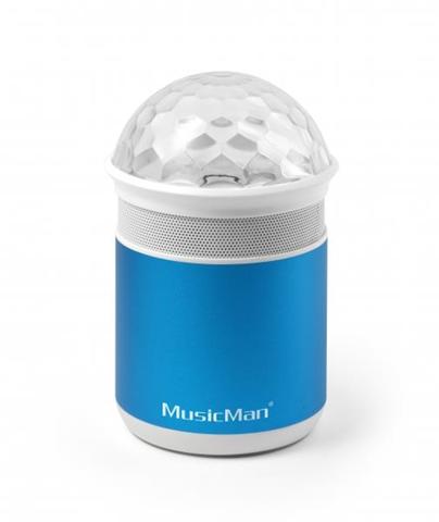Technaxx MusicMan BT-X17 Mono 4W Tubo Blu