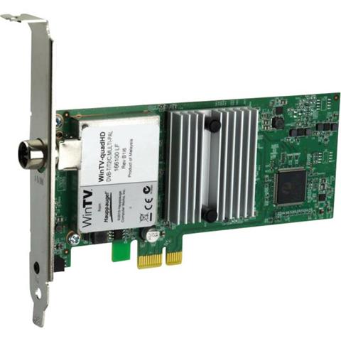 Hauppauge Scheda PCIe x1 Hauppauge WinTV-quadHD con telecomando Numero di sintonizzatori: 4