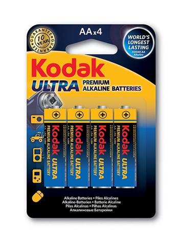 Kodak Ultra Premium Batteria monouso Stilo AA Alcalino