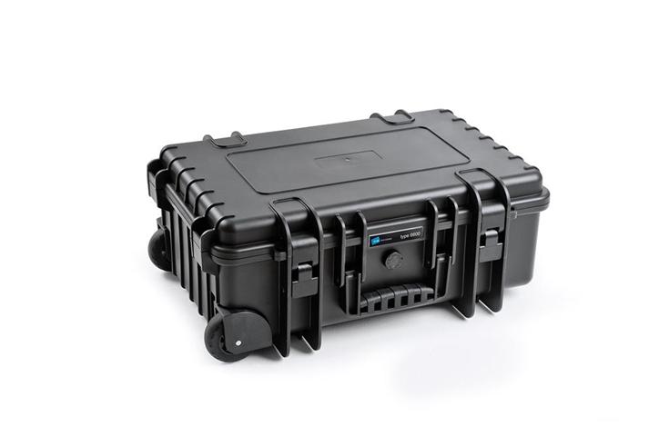 B&W 6600 Custodia trolley Interfaccia audio Polipropilene (PP), Gomma Nero