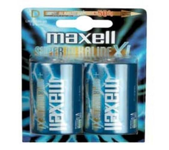 Maxell D 2 - pk Alcalino 1.5V batteria non-ricaricabile
