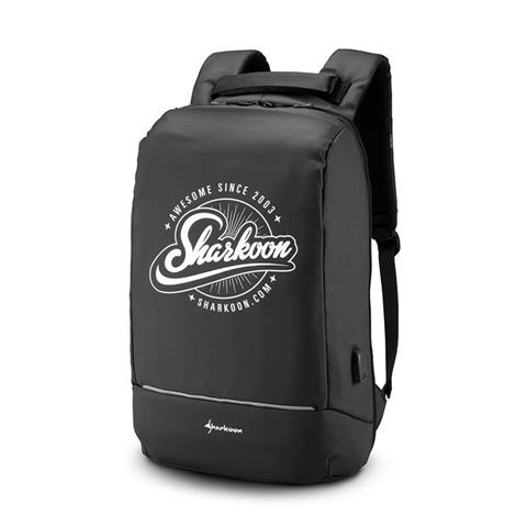 Sharkoon Backpack borsa per notebook Zaino Nero