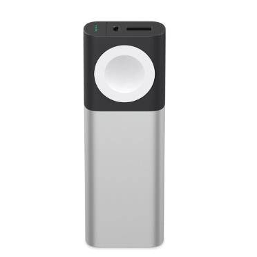 Belkin Valet Charge Power Pack batteria portatile Nero, Argento, Bianco 6700 mAh