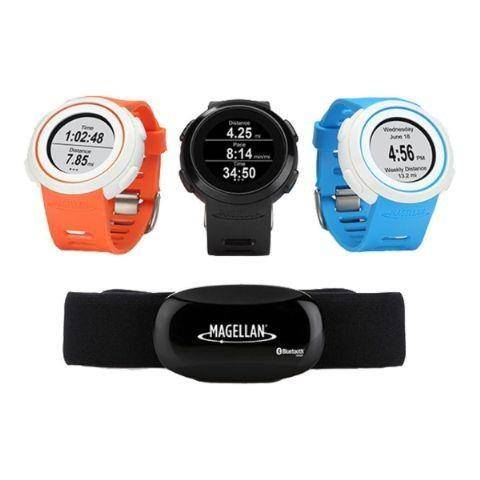 Magellan Echo Running Watch+Hrm Blue Accessori Telefoni Smartphone: prezzo