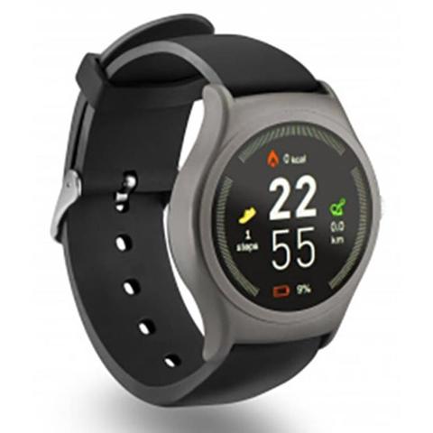 ACME SW201 smartwatch Nero, Grigio IPS 3,3 cm (1.3