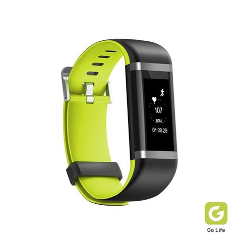 Fitness tracker  con display touch, controllo della frequenza cardiaca, pedometro, conta calorie, monitoraggio sonno e controllo della musica