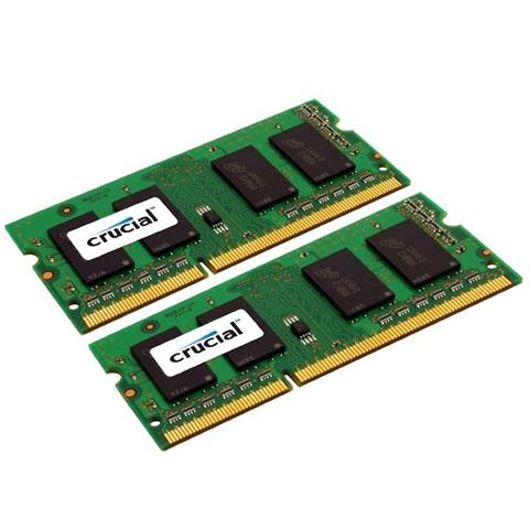 Crucial 4GB (2x2GB) DDR3-1333 CL9 SO-DIMM LV 4GB DDR3 1333MHz memoria