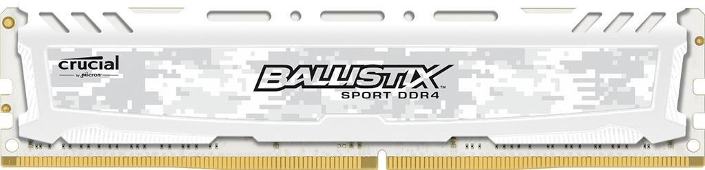 Crucial Ballistix Sport LT 8GB DDR4 2400MHz memoria Data Integrity Check (verifica integrità dati)