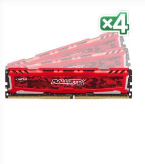 Crucial 16GB DDR4-2400 16GB DDR4 2400MHz memoria