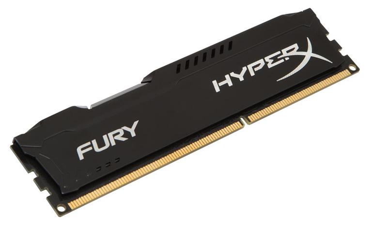 Kingston Memoria Ram Kingston Technology Hyperx Fury Nero Series 4Gb 1.600Mhz T