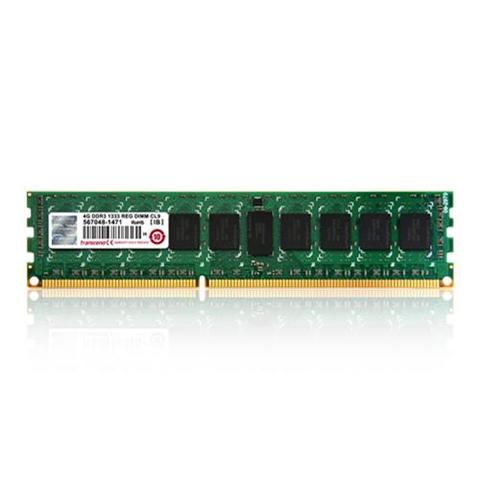 Transcend aXeRam 8GB 240-pin Long-DIMM DDR3-1600 ECC memoria 1600 MHz Data Integrity Check (verifica integrità dati)