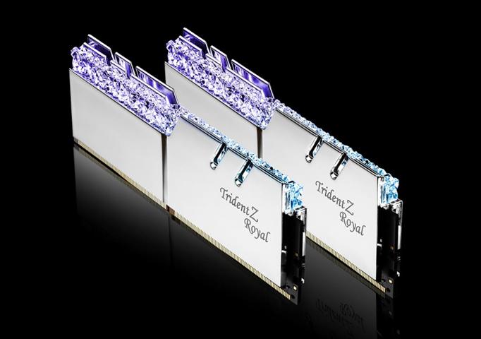 G.Skill Trident Z Royal F4-4800C18D-16GTRS memoria 16 GB DDR4 4800 MHz