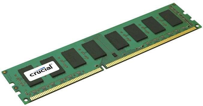 Crucial 8GB DDR3 1600 MHz (PC3-12800) 240-pin RDIMM memoria Data Integrity Check (verifica integrità dati)