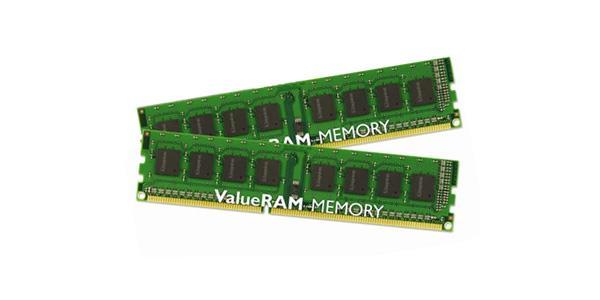 Kingston Technology ValueRAM 16GB DDR3 1333MHz Kit memoria
