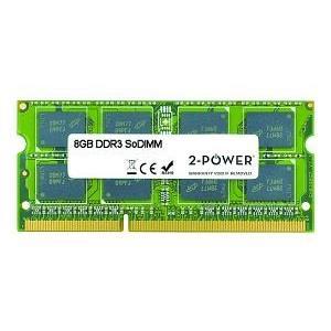2-Power 8GB DDR3 SODIMM 8GB DDR3 1600MHz memoria