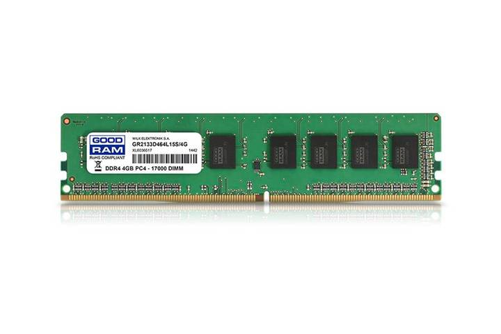 Goodram GR2400D464L17S/4G memoria 4 GB DDR4 2400 MHz
