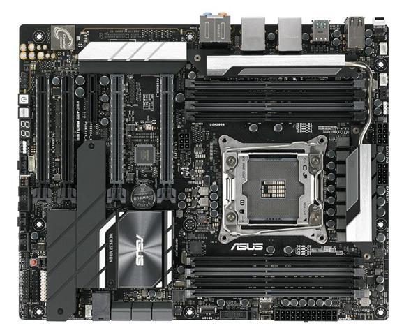 Asus WS C422 PRO/SE server/workstation motherboard LGA 2066 (Socket R4) ATX Intel® C422