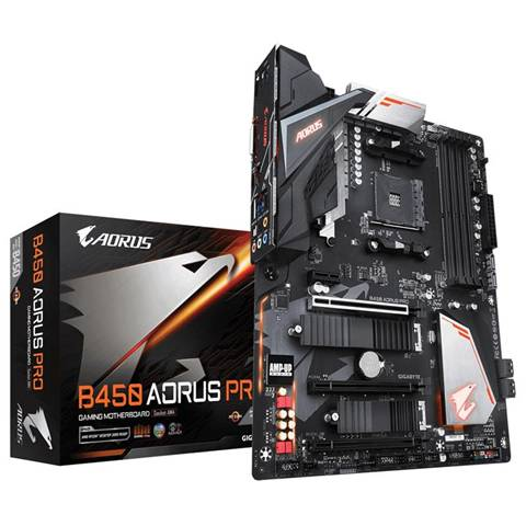 Gigabyte B450 AORUS PRO (rev. 1.0) Presa AM4 ATX AMD B450