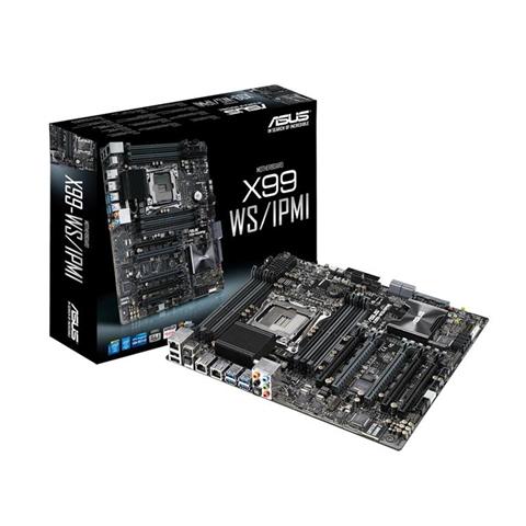 Asus Scheda madre Asus X99-WS/IPMI Intel X99 LGA 2011-v3 ATX server/workstation motherboard