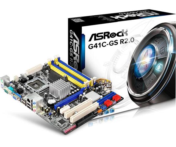 Intel MB Intel  775 ASROCK G41C-GS R2.0
