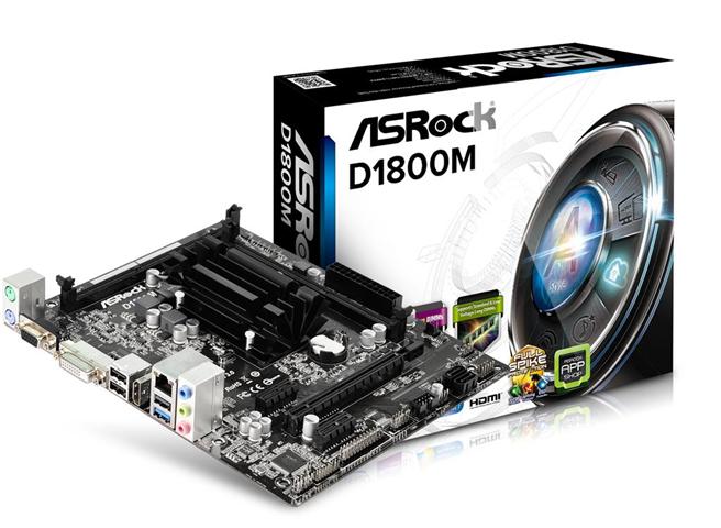 ASRock Scheda madre CEL ASRock D1800M Dual-Cel/MATX