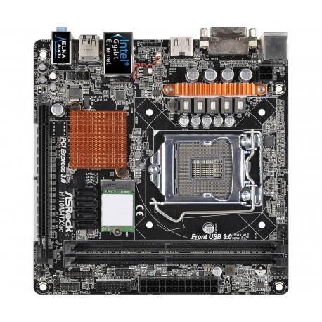 ASRock H110M-ITX/ac LGA 1151 (Presa H4) Intel® H110 Mini ITX